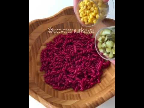 Kokoş Makarna Salatası Tarifi