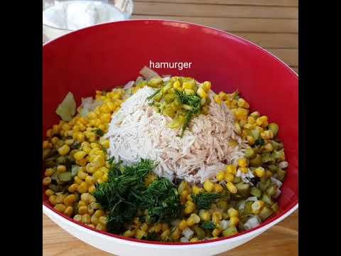 Tavuklu Yoğurtlu Salata Tarifi